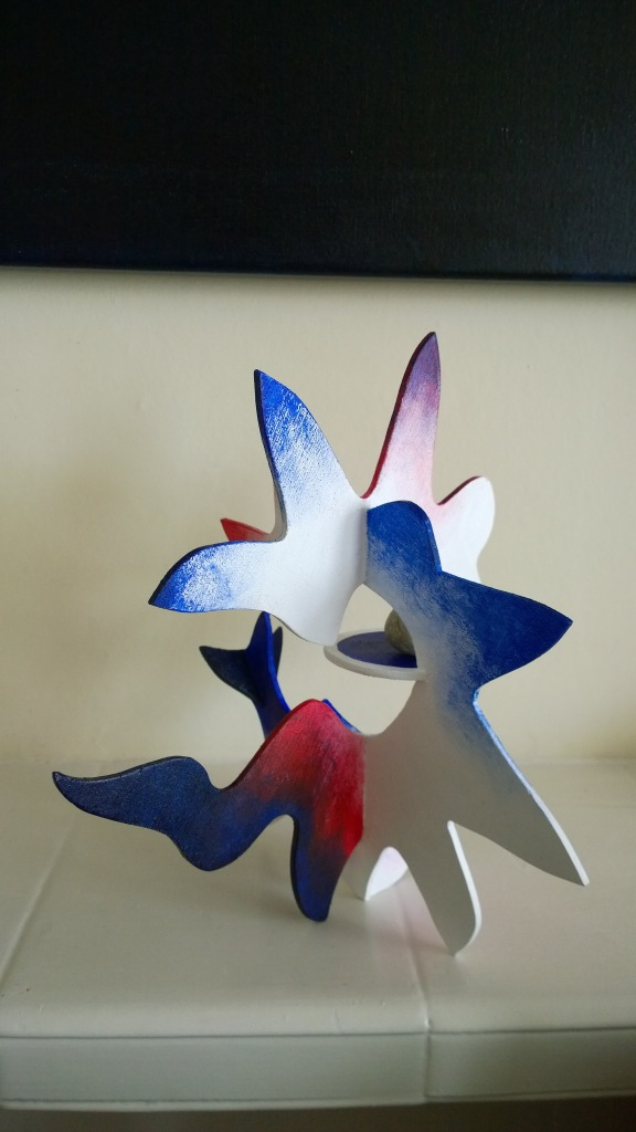 Red blue atomic star 2