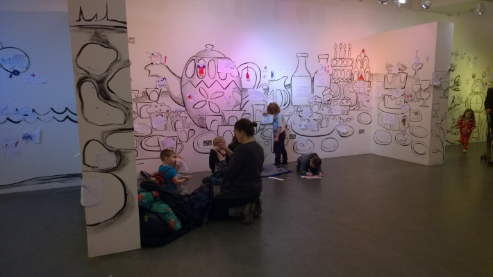 4 drawing in action